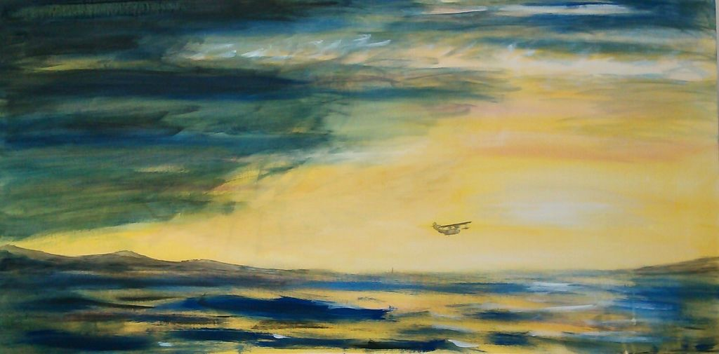 Into the Sunrise 2013 Acrylic