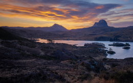 Colourful Suilven
