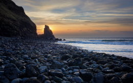 Taliskey bay sunset