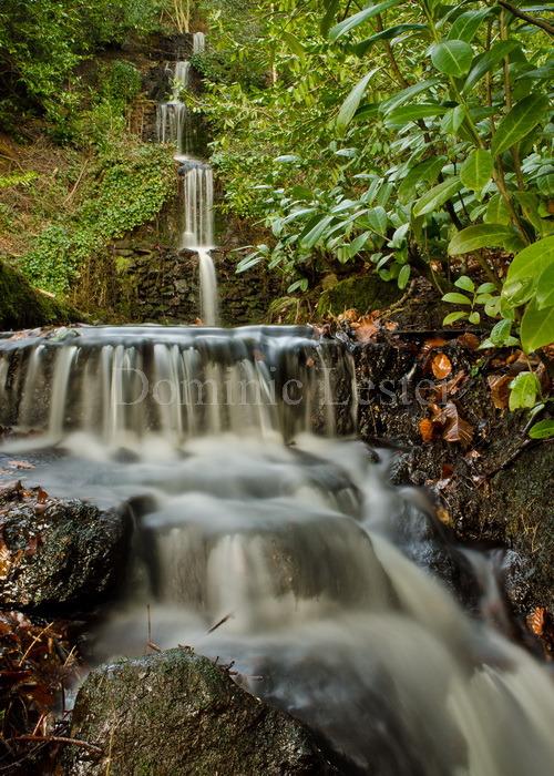 waterfall in steps
