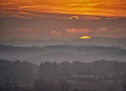 Surrey sunset horizons