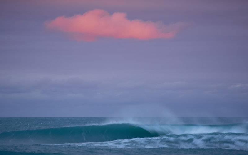 Pink cloud surf