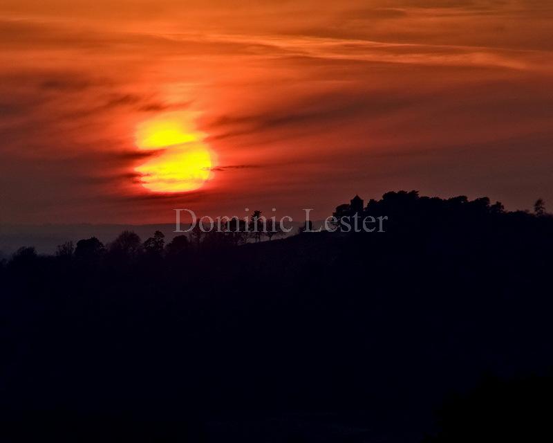 st.Martha sunset