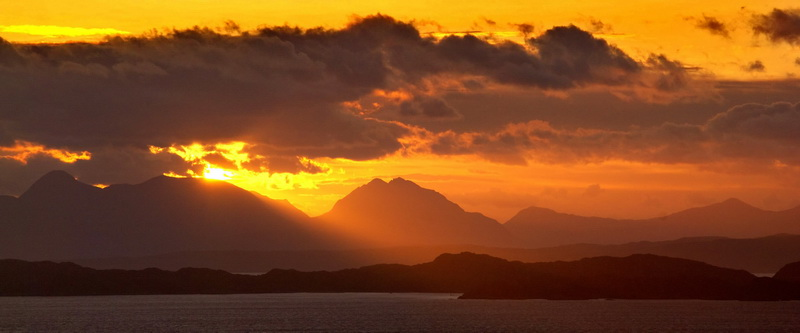 sunrise from Skye