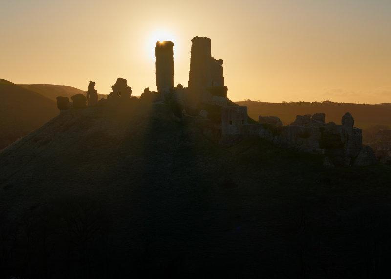 Corfe Castle Blast