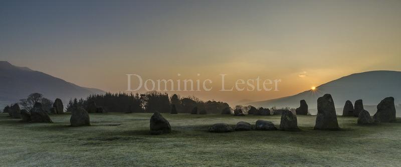 Sunrise at Castlerigg
