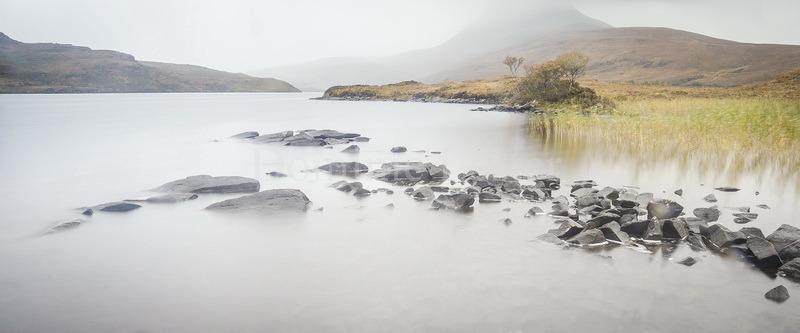 Stone jetty