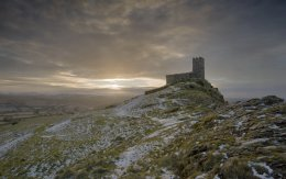 Brentor sunrise