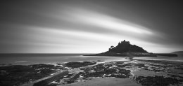 St.Michaels mount after sunset