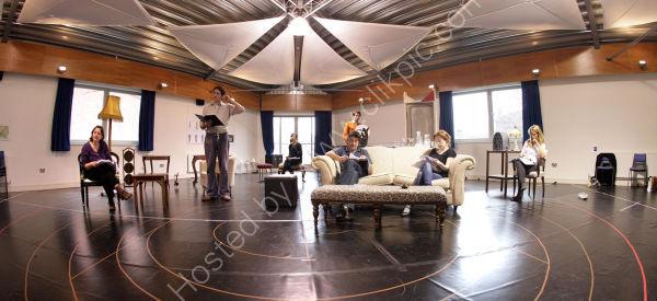 Dangerous Corner Rehearsal Salisbury Playhouse