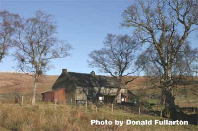 Country cottage in Glen Fruin