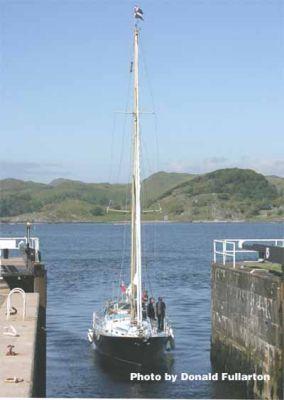 Sea lock at Crinan