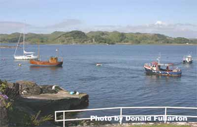 View west from Crinan