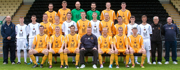 The official Dumbarton team photo for the 2011-12 season.