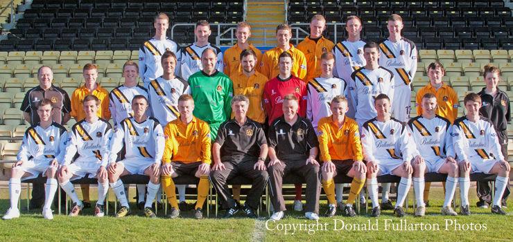 Dumbarton FC 2010-11 official team photo
