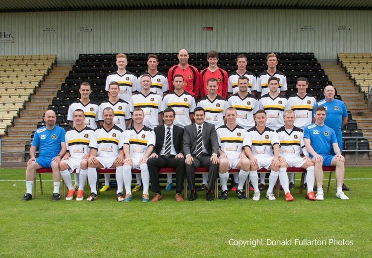 Dumbarton FC 2013-14