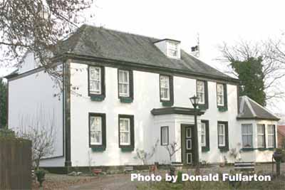 Helensburgh's oldest house, Drumfork House