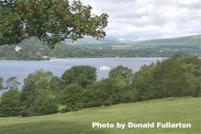 Loch Lomond from Balloch Park