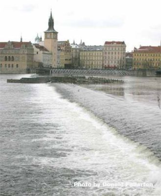 Weir in Prague