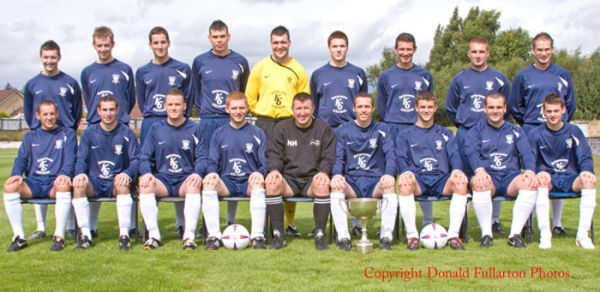 Vale of Leven Juniors 2008-9