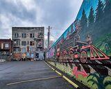 Railroad Ave. Mural