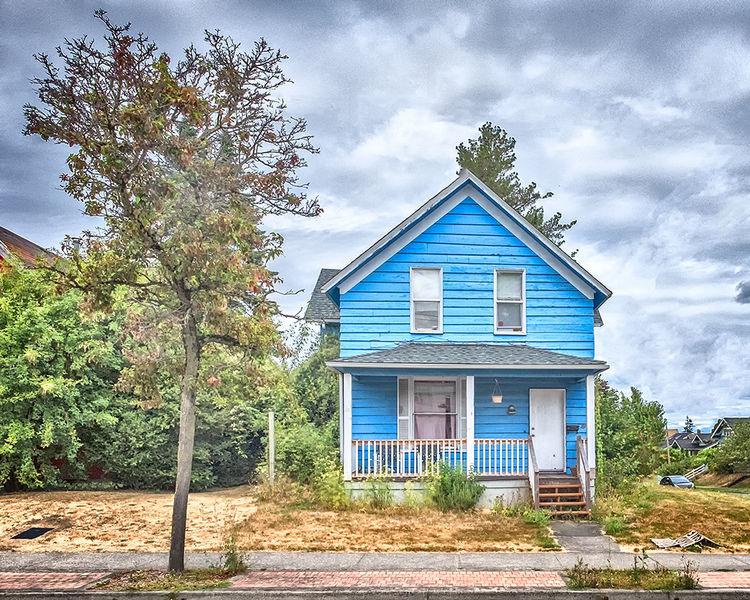 My Blue House