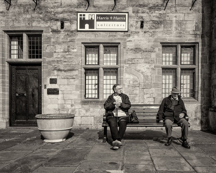 Two Old Men at Rest