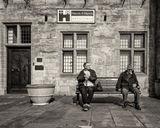 Two Old Men at Rest