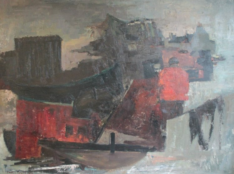 Eileanach, Oil Panel, 92 x 124, 1964.