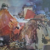Harbour Scene - Collection Finlay & Norma Macleod