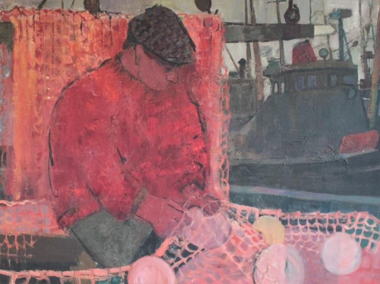 Iasgar Mor, Oil Panel, 124 x 92, undated