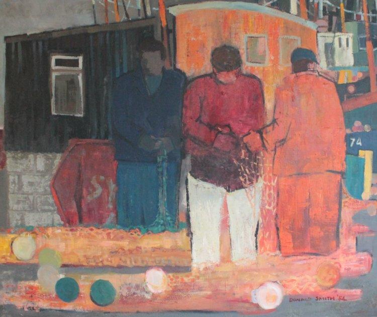 SY, Oil Panel, 112 x 134, 1984