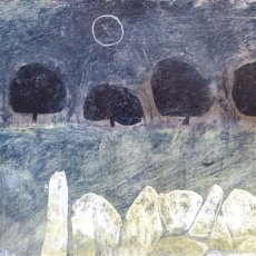 Wahite stones Black sun