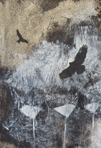 Buzzard Kite and umbelliferae