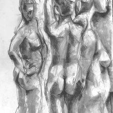 Three 5 minute nudes