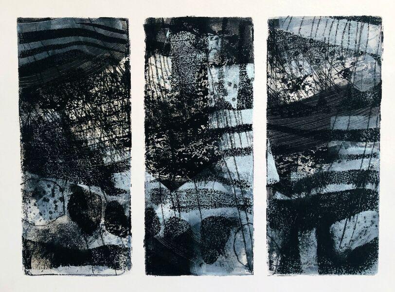 Dunnet cliffs triptych 6