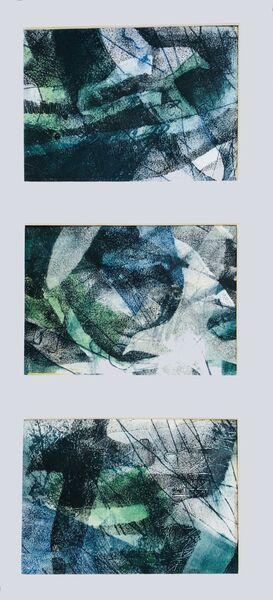 Fulmar vertical triptych