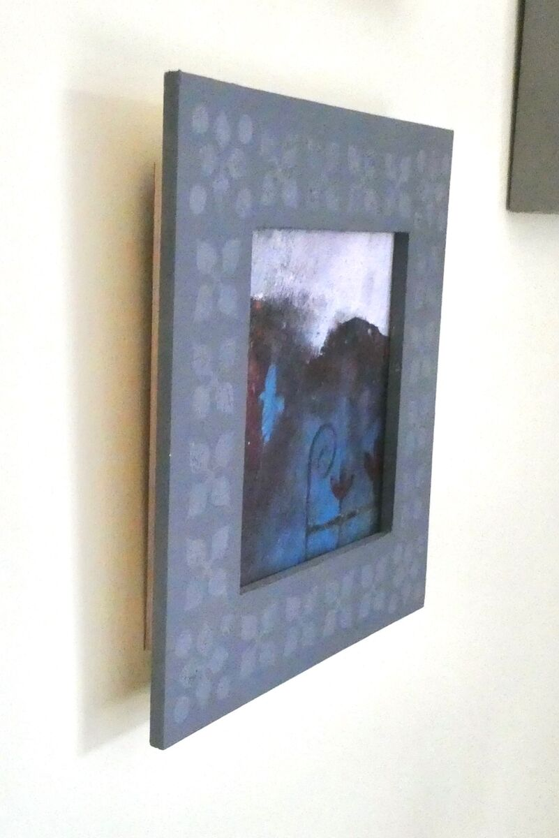 Picture with decorated frame