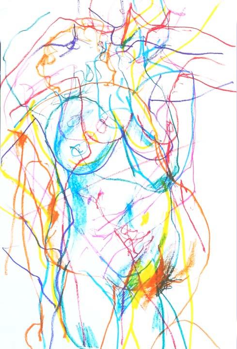 Multicoloured nudes