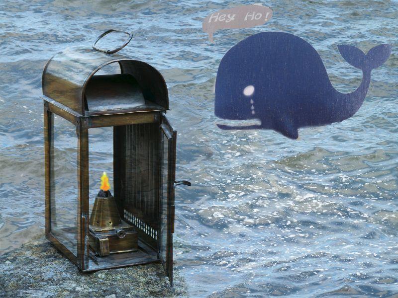 1st Whale Oil Lamp - BP