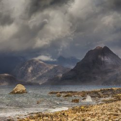 Advanced colour 2nd Stormy morning over the Cuillins - AS