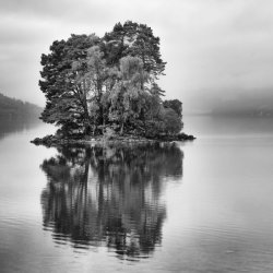 Advanced colour 3rd Misty day Loch Tay - DS
