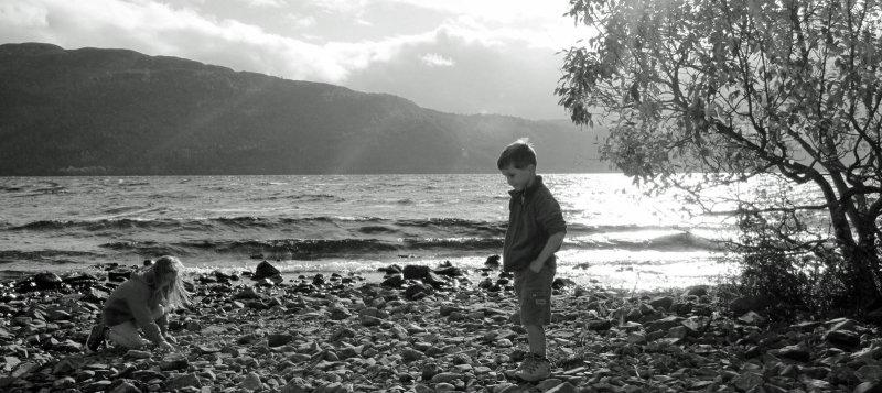 Contemplating on Loch Ness