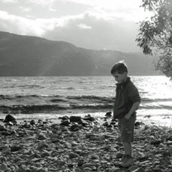 Contemplating on Loch Ness