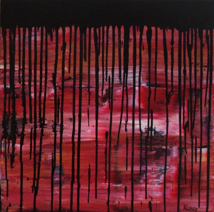 BLACK RAIN   £550   61x61x3cm