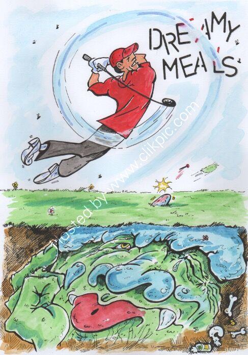 Dreamy Meals Illustration