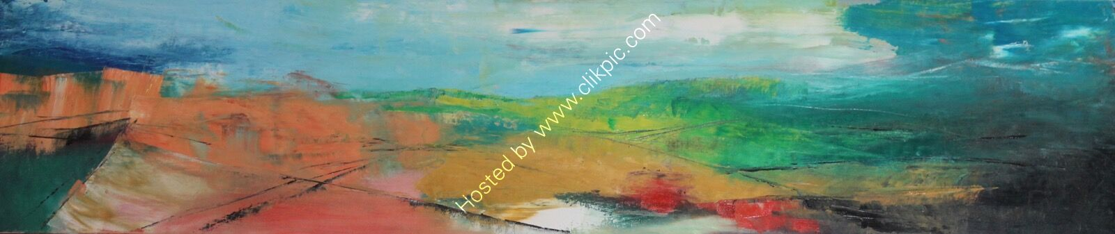 Abstract landscape, South Downs/long