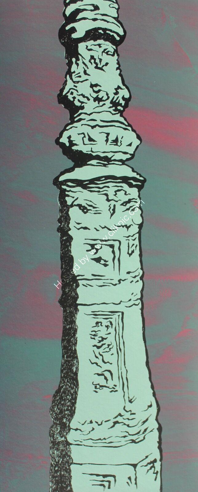 Brighton Lamppost / Green series Mixed 2