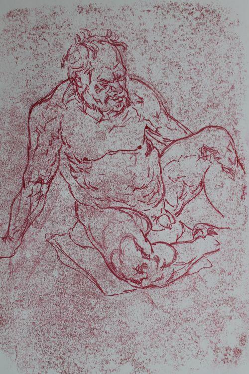 Mono 14. original drawing/print.