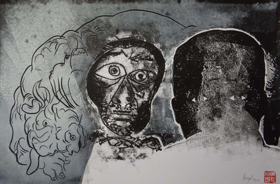 Me, Picasso and a minotaur.